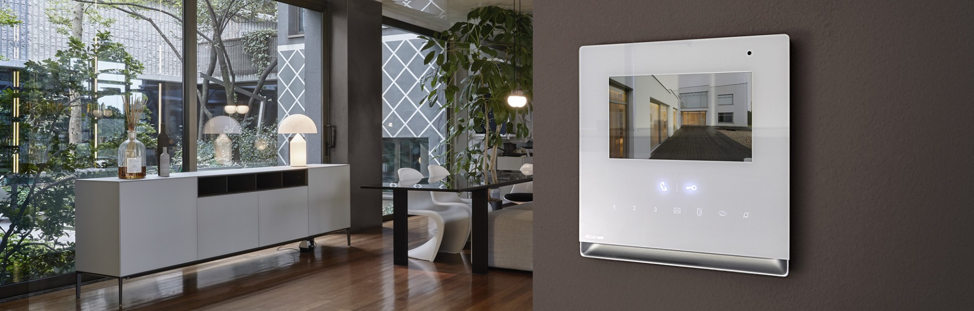 Comelit Home Door Entry Monitors Design And Technology Comelit
