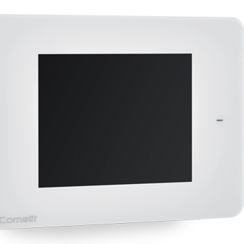 comelit home automation minitouch white detail