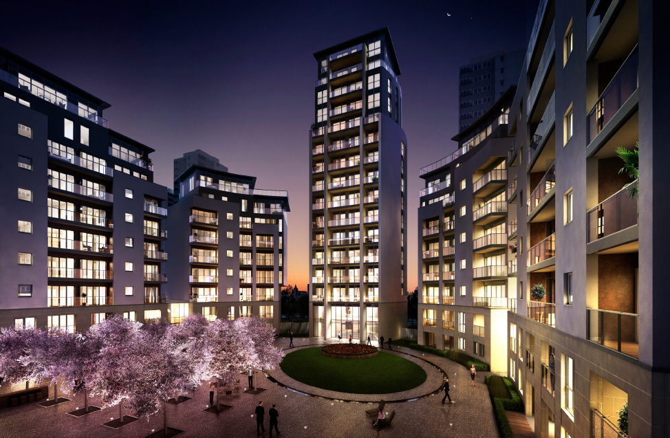 Comelit selected by the berkeley group for luxury kew bridge west development comelit - Case study small apartment ...